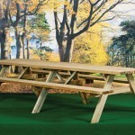 Superior Pine Picnic Table