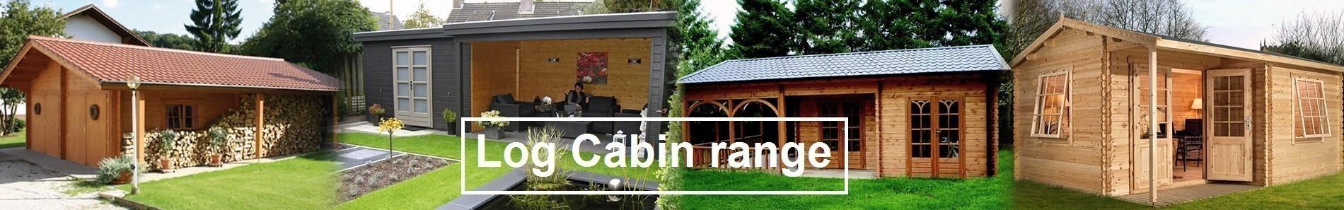 Log Cabins, Garden Buildings