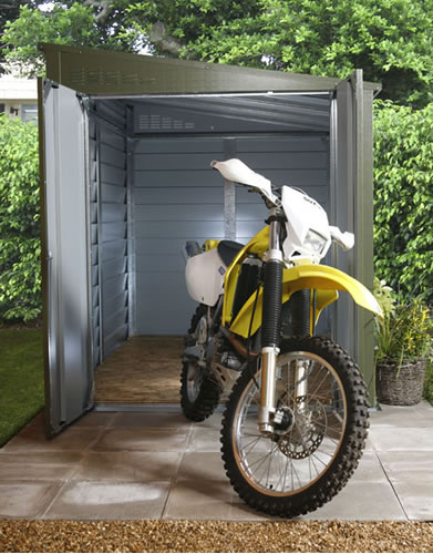 Secure motorcycle garage 960