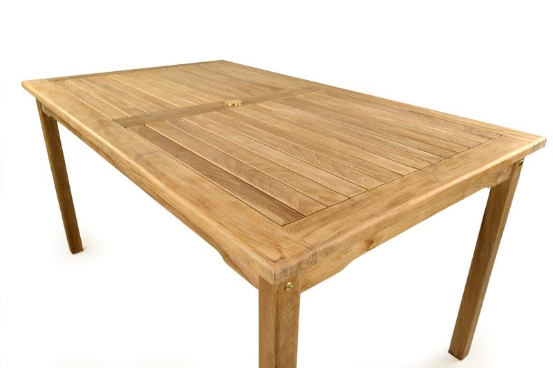 The Bethan Teak Rectangular Table