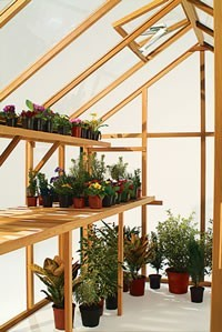 Growhouse Greenhouse Staging