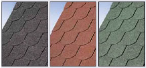 Beaver tail roof shingles
