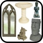 Outdoor Ornaments, Statues, Mirrors & More