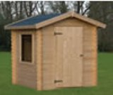 19mm Log cabin style sheds