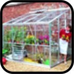 Eden Lean-to Greenhouse