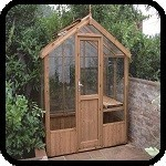 Kingfisher Wooden Greenhouse