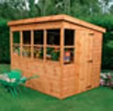 Shedlands Traditional Sun Pent Sheds