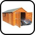 Shedlands Traditional Deluxe Wooden Garages