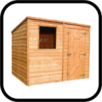 Popular Pent Shed Range
