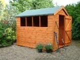 Ready Built Popular Apex Shed Range