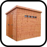 Security Pent Sheds