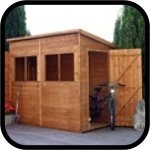 Express Delivery Pent Sheds