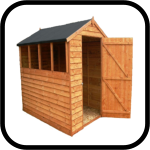 Great Value Wooden Sheds