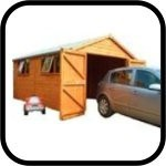 Heavy Duty Wooden Garages