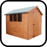 Traditional Wooden Sheds