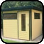 Lugarde Prima Flat Roof series Summerhouses