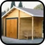Lugarde Log Cabin Garages