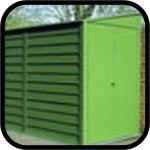 9 Series Trimetals metal sheds