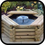 Wooden Water Features