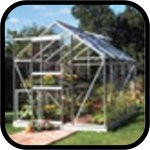 Halls Popular Aluminium Greenhouse