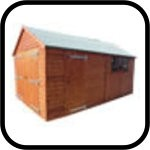 Traditional Heavy Duty Timber Garage