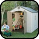High Quality Lifetime Plastic Sheds