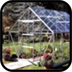 Halls Silver Universal Greenhouse