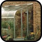Halls Silverline Lean to Greenhouse