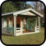 Garden Products Log Cabins