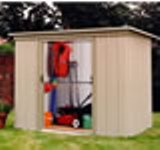 Yardmaster 84PZ Metal Shed 7'10x3'11