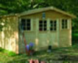 Solid Sion Log Cabin (4.18m x 3.28m)