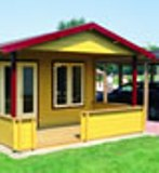 Lugarde Nick Log Cabin 4.0m x 3.0m