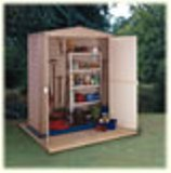 Duramax Little Hut Plastic Shed 5'3x2'9