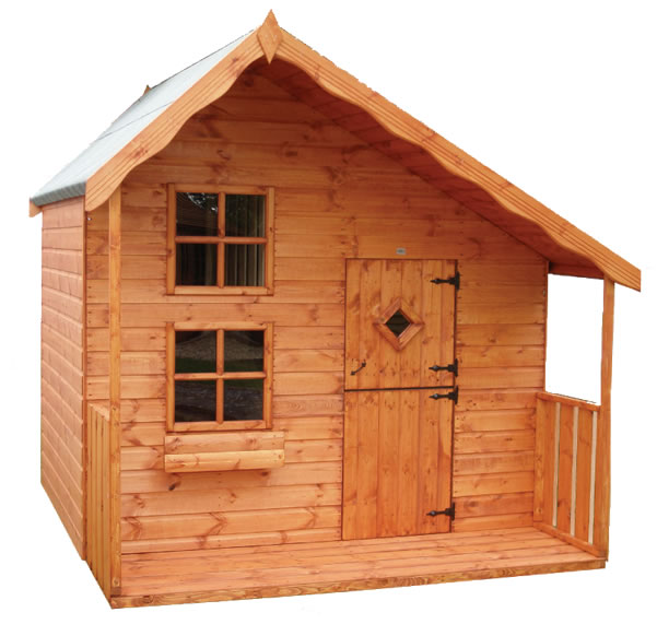 Candy Cabin Playhouse 8'x8'