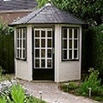 Lugarde Prima Leonie Summerhouse 2.5m diameter - including floor