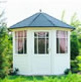 Lugarde Prima Shilton summerhouse 2.5m diameter