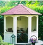 Lugarde Prima Andrea Summerhouse 2.5m diameter
