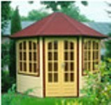 Lugarde Prima Enstone Summerhouse 3m diameter