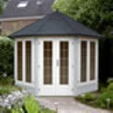 Lugarde Prima Excellent De Luxe Summerhouse 3m Diameter