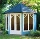 Lugarde Prima Sunshine Summerhouse 3m Diameter