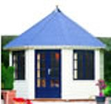 Lugarde Prima Bella Summerhouse 3.5m diameter - including Floor