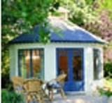 Lugarde Prima Royal Garden summerhouse 4m Diameter - including Floor