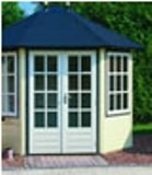 Lugarde Prima Rianne Summerhouse 3mx2.5m - including Floor