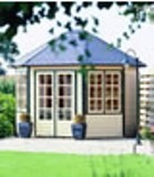 Lugarde Prima Sebia Summerhouse 3.5x3m - including Floor