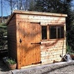Heavy Duty Pent Shed 12' x 6'