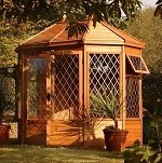 Malvern MPB Gazebo Summerhouse 8'5x6'