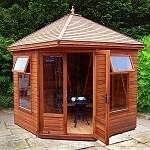 7x7 Malvern MPB Martley Corner Summerhouse
