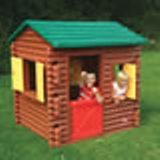 Little Tikes Log Cabin Playhouse 4'8 x 4'