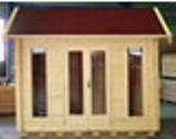Lugarde Alabama 44mm Log Cabin 3mx4m