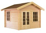 Lugarde Arizona 44mm Log Cabin 3mx3.5m